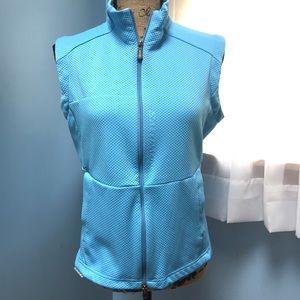 Salomon Zip Front Light Blue Vest